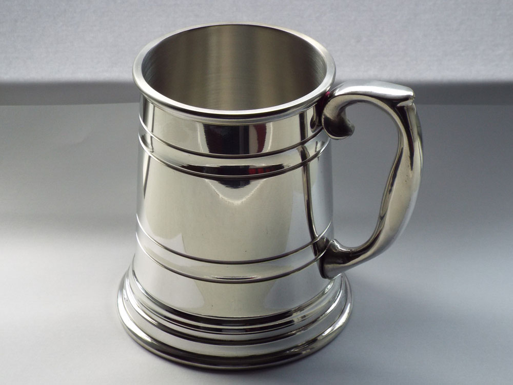 1 Pint Pewter Real Ale Stein (T027)